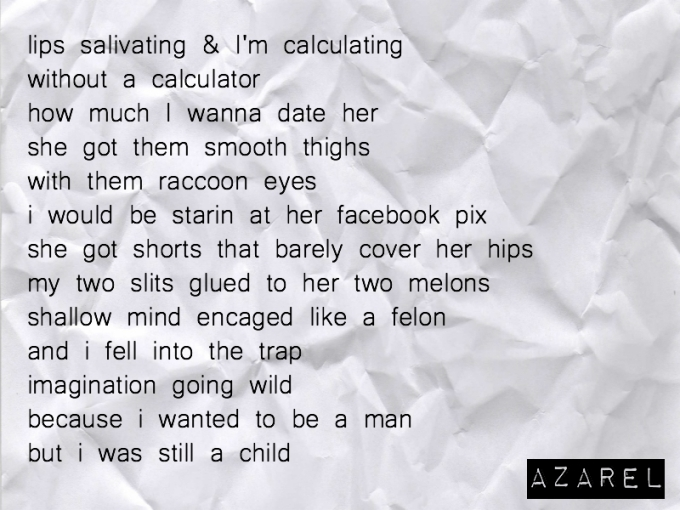 Poetry For Her Love Poem Salivate Azarel S Diary Thoughts Poems And Outfits Of An Anomaly